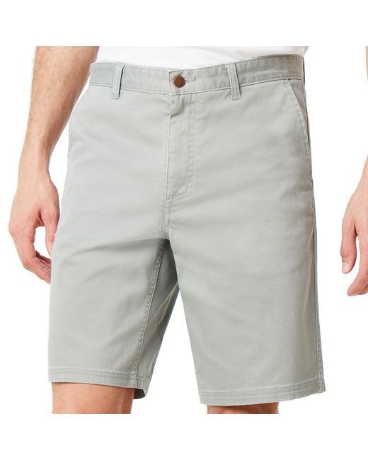 Oakley Stone Wash Chino Short in Gray für Herren