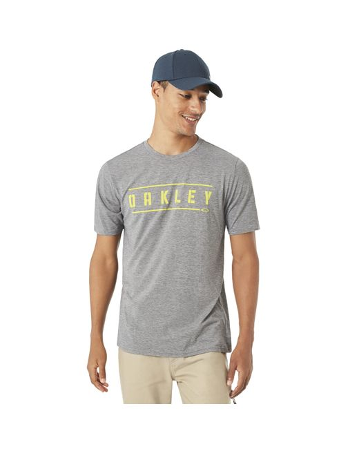 Oakley - Gray O-double Stack Tee for Men - Lyst