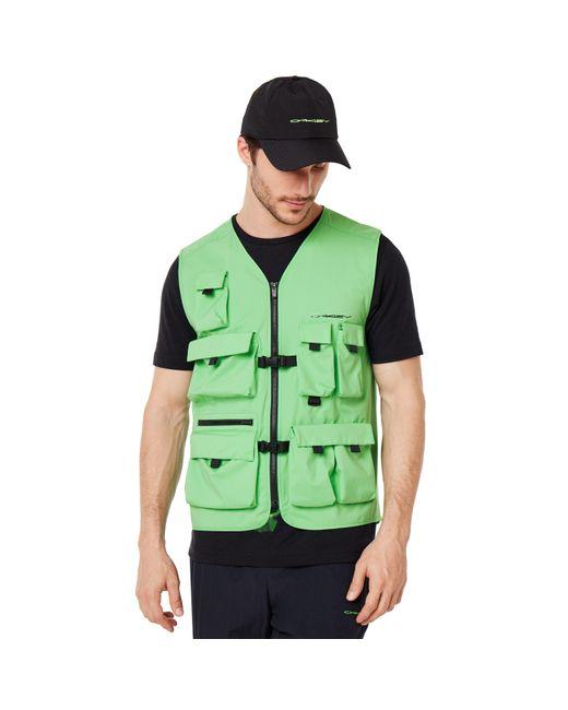 Oakley Green Outdoor Vest for men