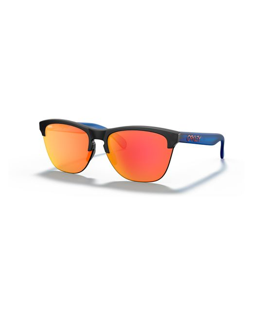 Oakley Black FrogskinsTM Lite Maverick Vinales Signature Series Sunglasses
