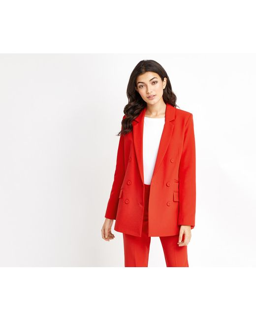 Oasis | Ultimate Red Suit Jacket | Lyst