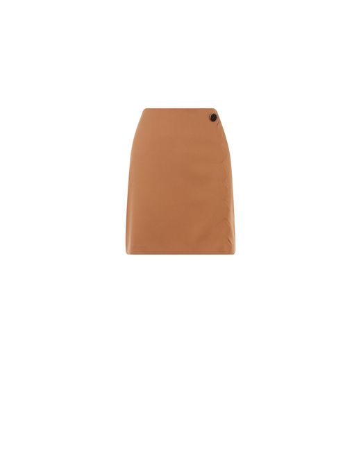 Oasis Multicolor Scallop Mini Skirt