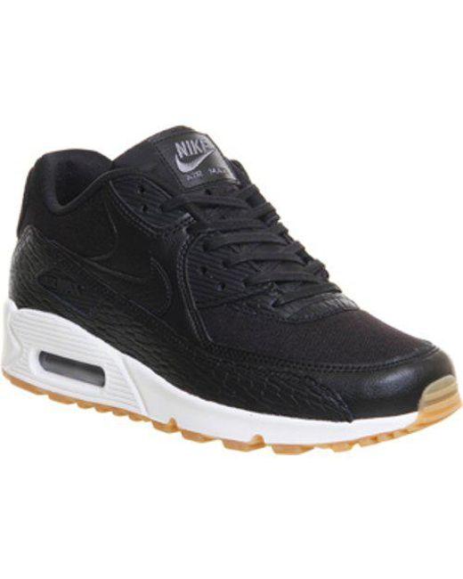 reputable site 66316 271c7 Nike. Women s Black Air Max 90