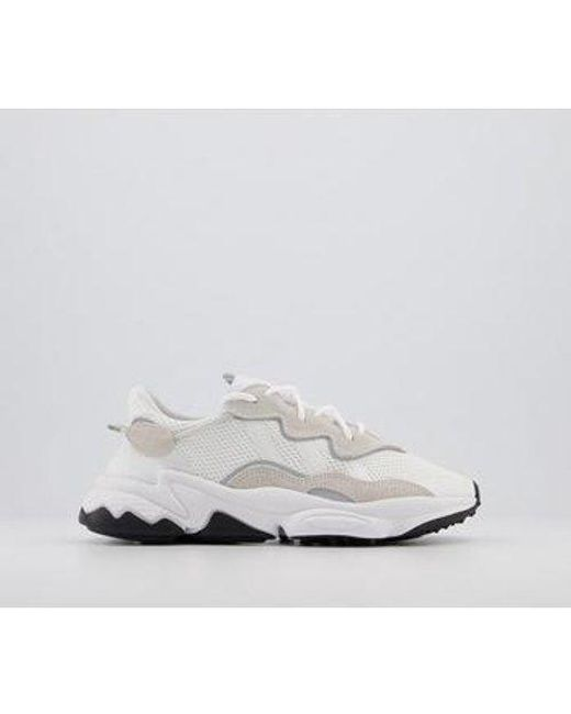 Adidas White Ozweego Hero Sneakers for men