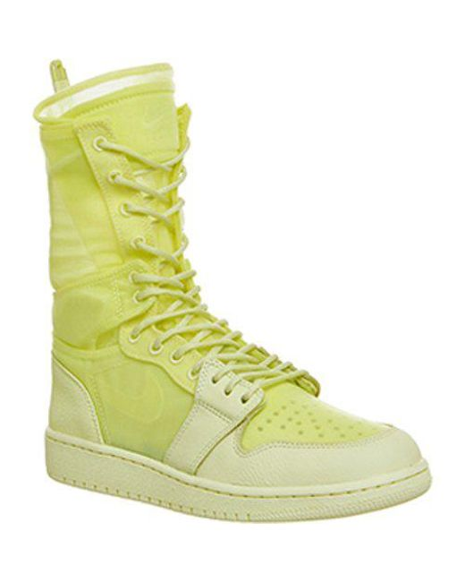 48ce998012cc7b Nike Jordan Air Jordan 1 Explorer in Yellow - Lyst