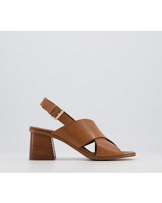 Office Brown Moldova Coverage Sandals