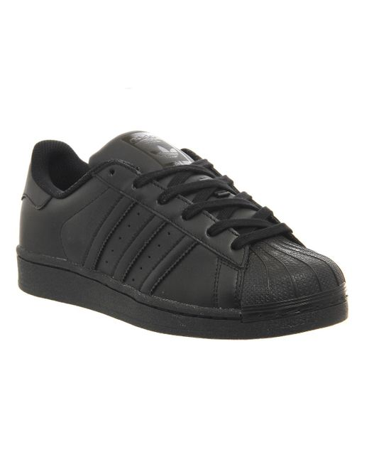 Adidas Originals | Black Superstar 2 | Lyst