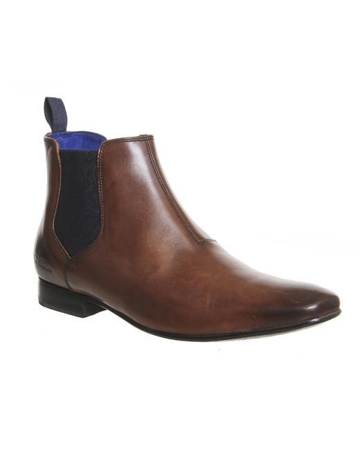 Ted Baker | Brown Camroon 4 Chelsea Boots for Men | Lyst