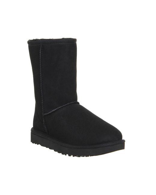 Ugg | Black Classic Short Ii Boots | Lyst