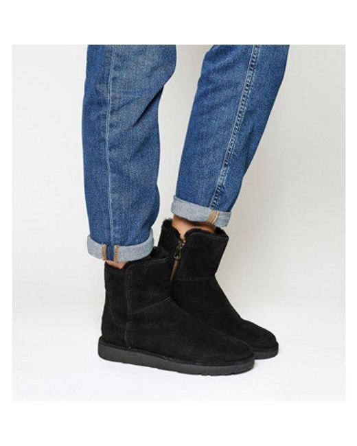 Ugg - Black Classic Lux Abree Mini - Lyst