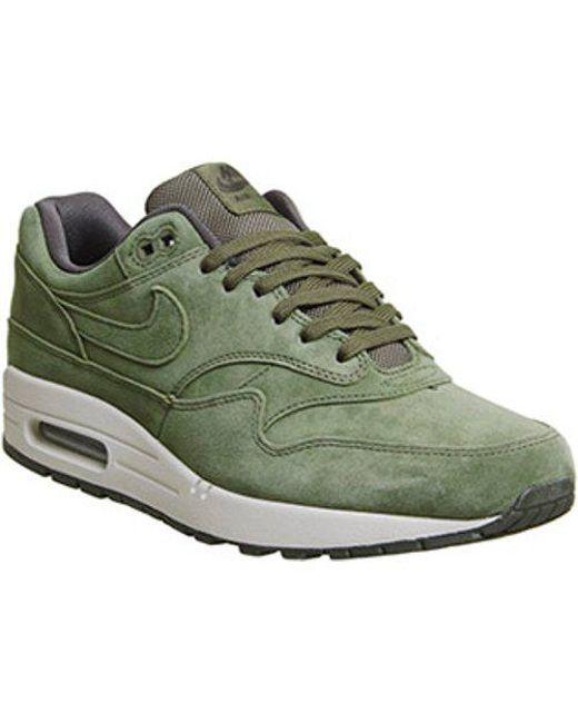 a5fa5f9dac75 Nike Air Max 1 in Green for Men - Lyst