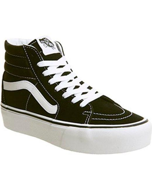 862f8a95f91edc Lyst - Vans Sk8-hi Platform 2.1 Women s Shoes (high-top Trainers) In ...