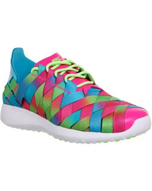 online store 70d87 748a2 Nike - Blue Juvenate Woven W - Lyst