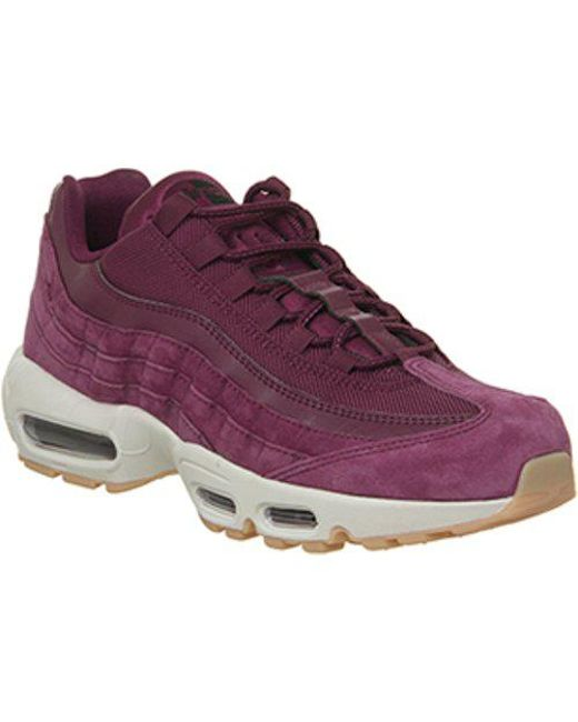 b2236eb21a8 Nike Air Max 95 in Red for Men - Lyst