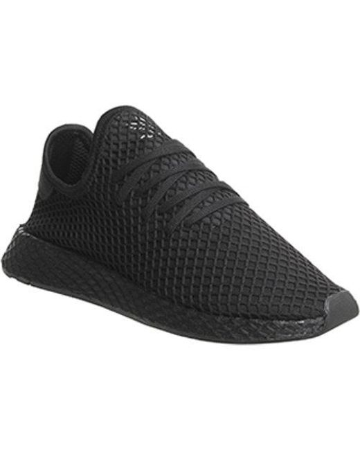 pretty nice 4fb89 4eb27 Adidas - Black Deerupt for Men - Lyst