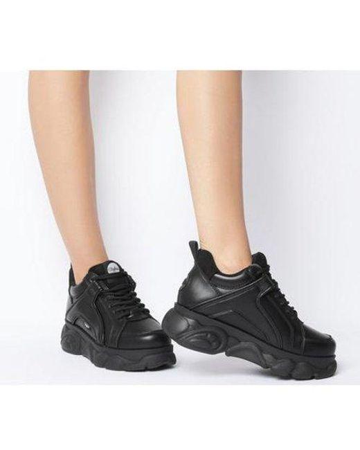 Buffalo Corin Low Sneaker in Black - Lyst