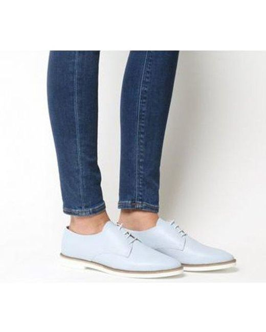 Office Blue Fifth-pointed Eva Lace Up