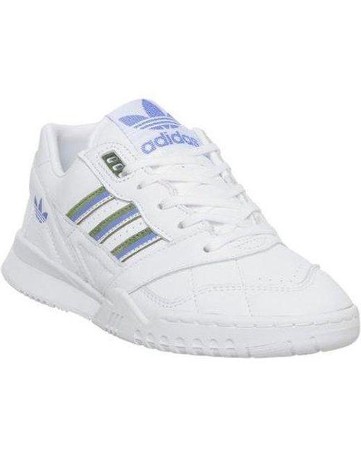 Adidas White A.r Trainer