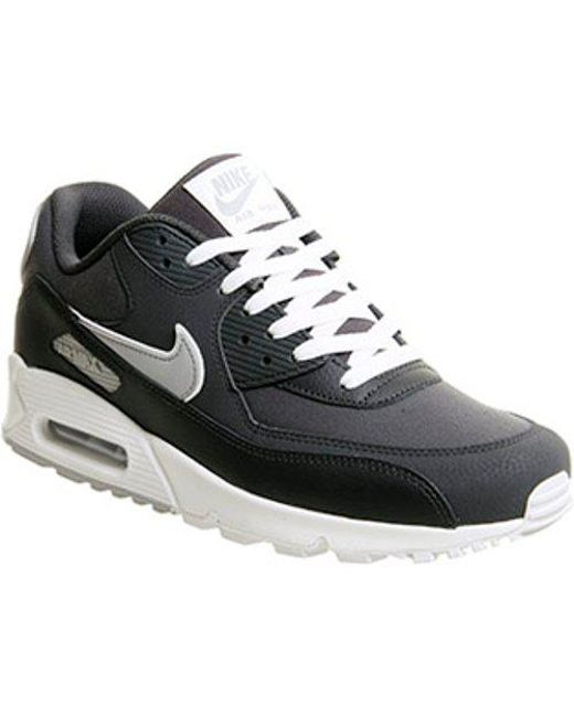 newest 7822e 0576d Nike. Men s Black Air Max 90 Te