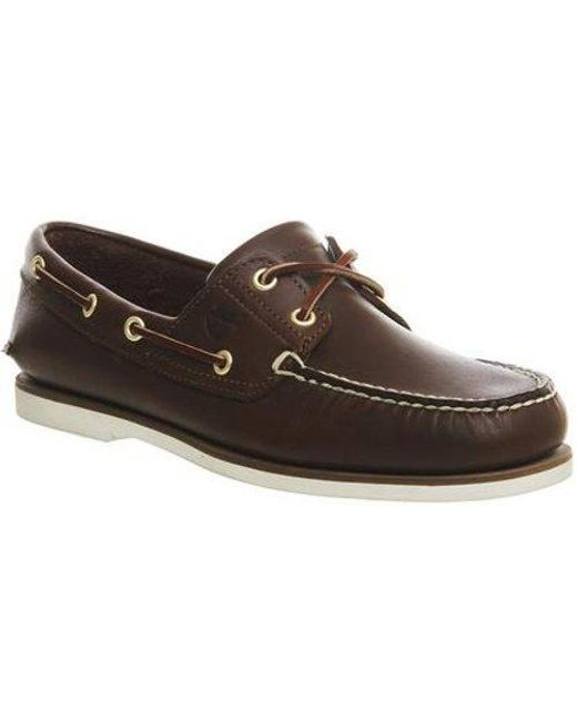 Timberland Brown New Boat Shoe for men