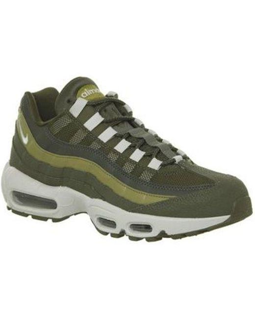 best sneakers 54e68 ee7a7 Nike - Green Air Max 95 - Lyst