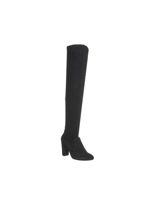 Office | Black Ellie Over The Knee Boots | Lyst