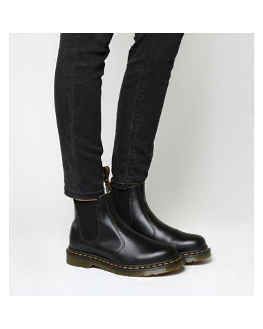 656f64ca02ff Dr. Martens 2976 Chelsea Boot in Black - Save 35% - Lyst