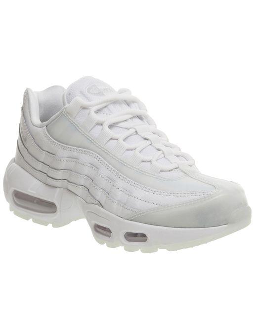 Nike | White Air Max 95 | Lyst