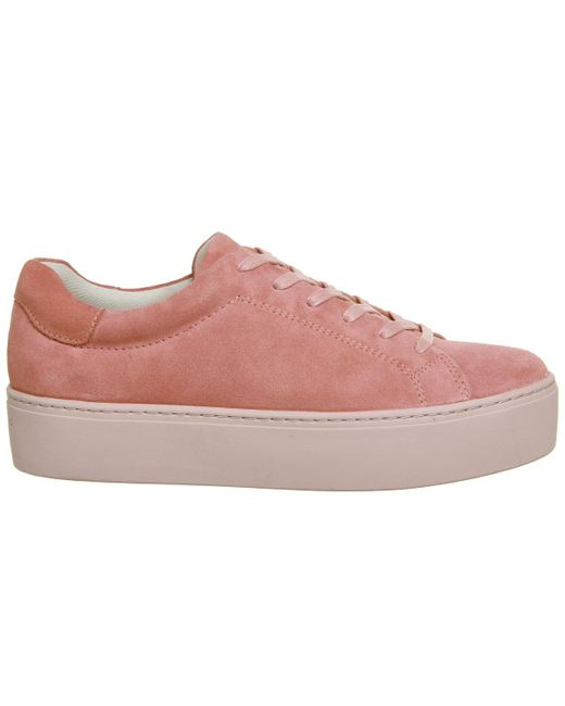 Vagabond Jessie Trainers In Pink