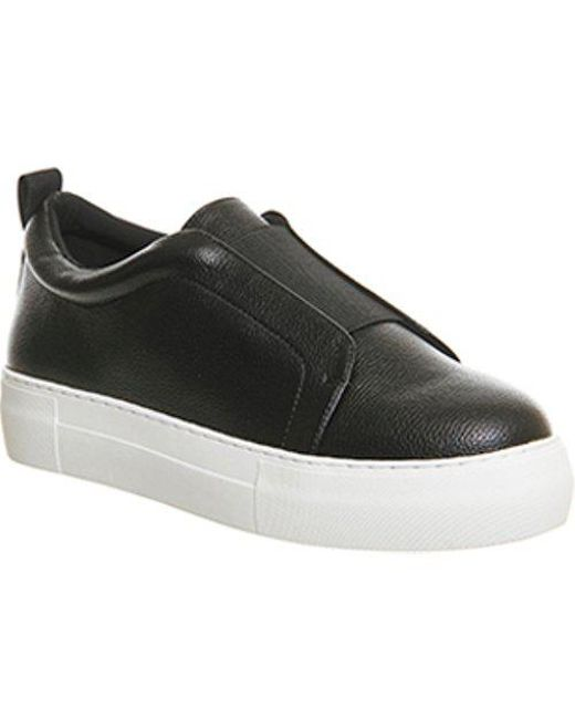 Office - Black Pow Elastic Flatform - Lyst