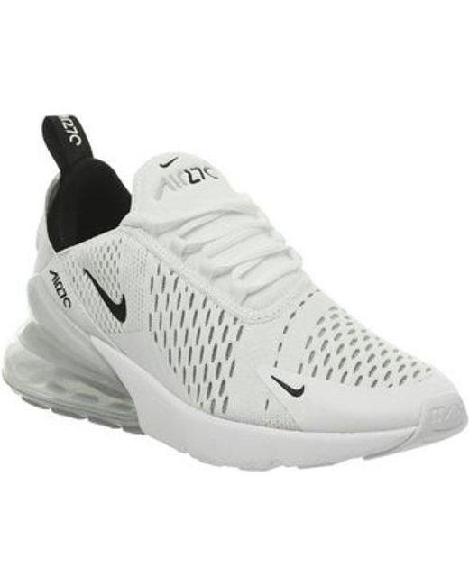 Reliable Nike Air Max Flair 270 KPU White Black Trainers Men's Lifestyle Running Shoes #SE005002
