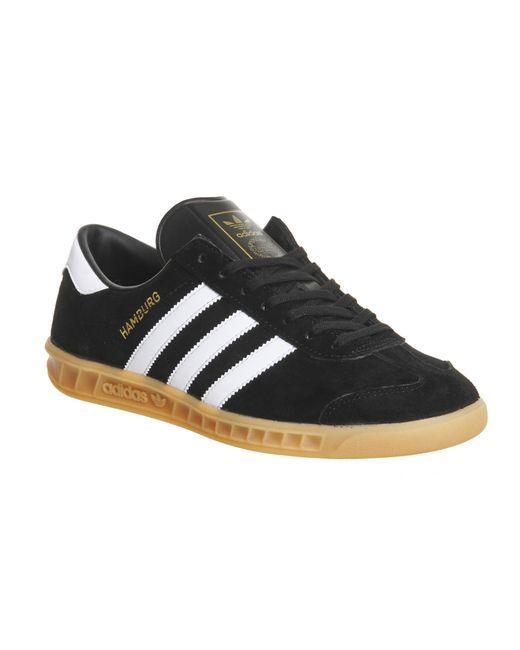 Adidas Originals | Black Hamburg for Men | Lyst