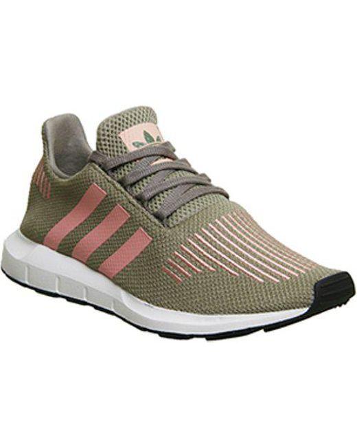 33a335665 Lyst - Adidas Swift Run in Green
