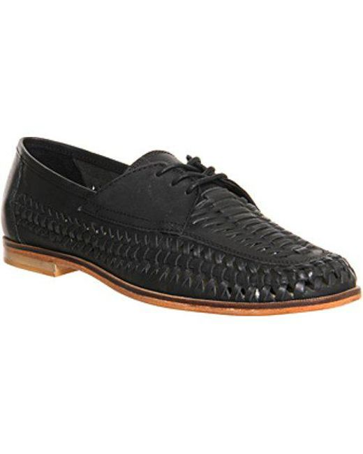 Office - Black Brixton Weave Lace for Men - Lyst