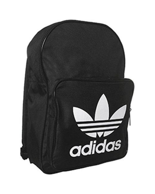 Lyst - adidas Classic Trefoil Backpack in Black for Men - Save 66% 1b702f24d8569