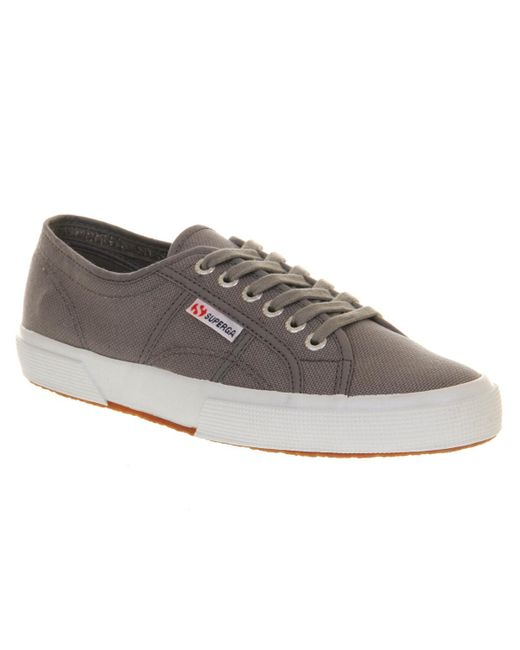 Superga | Gray 2750 Trainers | Lyst