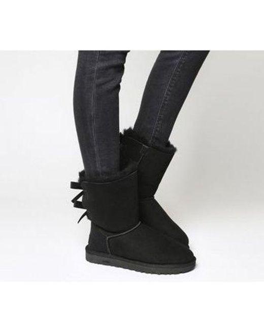 109c5419a36 Women's Black Bailey Bow Ii Calf Boots