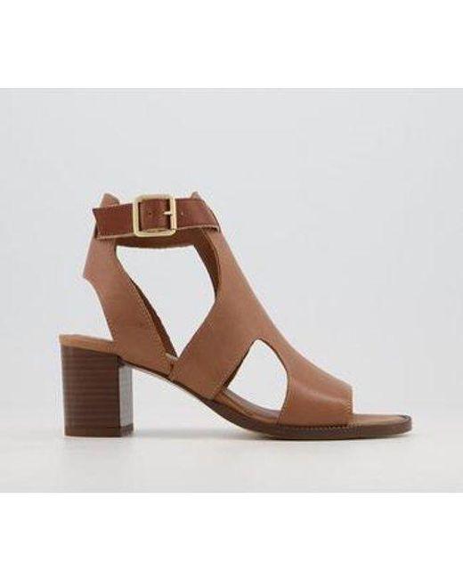 Office Natural Middelburg Covered Sandals
