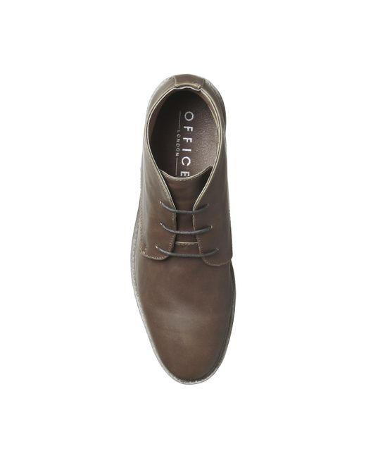Office Brown Garage Chukka Boots For Men Lyst
