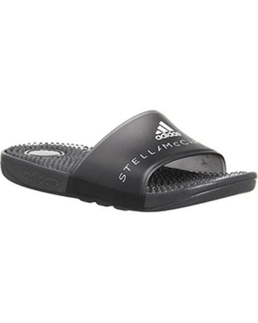 Adidas By Stella McCartney - Black Adissage Slides - Lyst