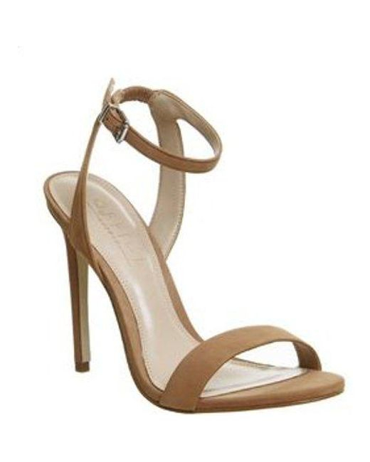 Office - Natural Alana Single Sole Sandals - Lyst