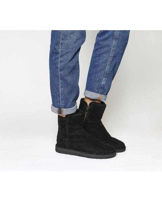 Ugg | Black Classic Lux Abree Mini | Lyst