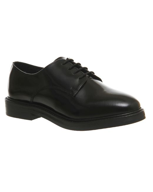Office | Black Radar Chunky Lace Up Brogues for Men | Lyst
