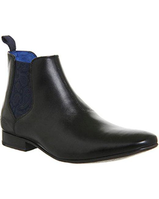 Ted Baker - Black Hourb 2 Chelsea Boot for Men - Lyst