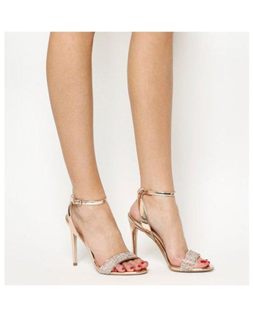 Office - Pink Alana Single Sole Sandal - Lyst