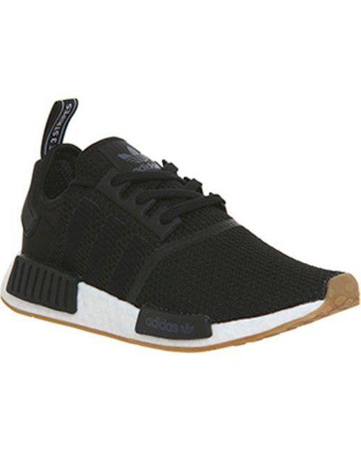 d1fdf878c Adidas Nmd R1 in Black for Men - Lyst