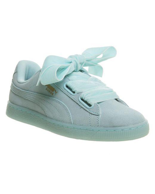 PUMA - Blue Vikky Ribbon Sneaker - Lyst