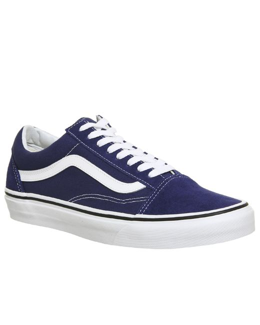Vans - Blue Old Skool Trainers for Men - Lyst