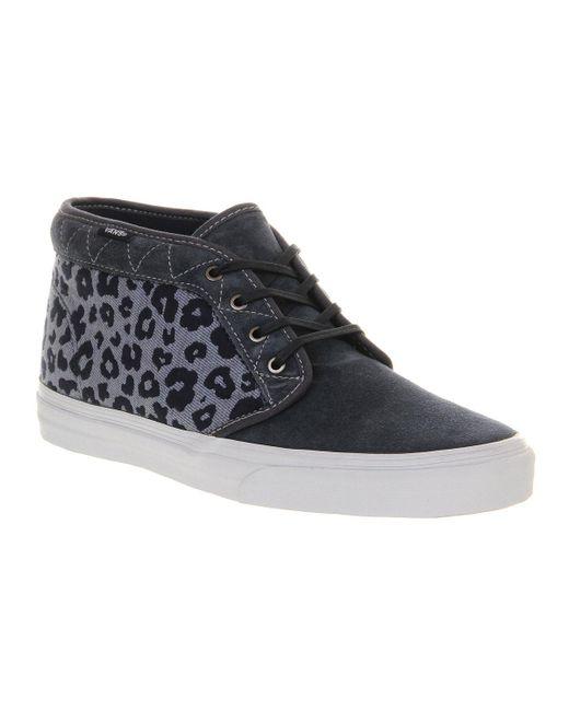 Vans | Blue Chukka Boots Ca for Men | Lyst