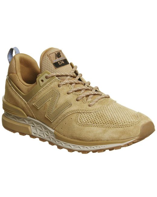 Men's Natural 574s Trainers